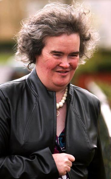 Susan Boyle Black Jacket Stunning Picture
