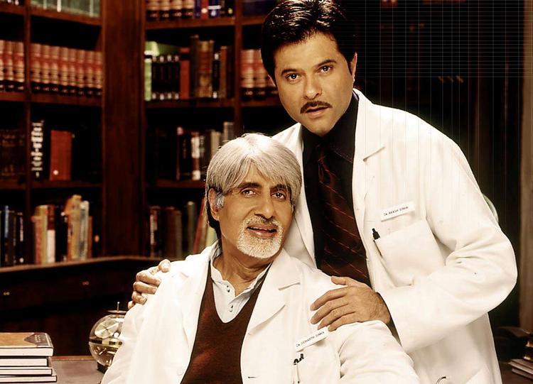 Anil Kapoor and Amitabh Bachchan in Armaan