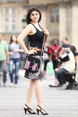 Engeyum Kadhal Hansika Motwani Mini Dress Still