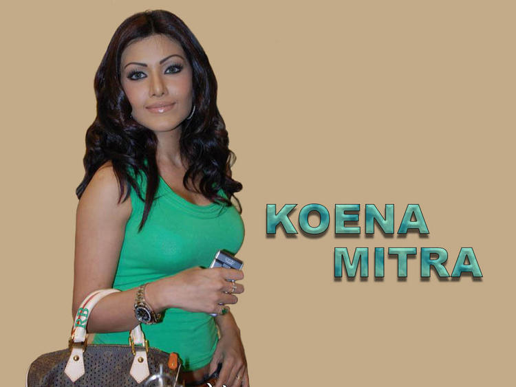 Sexclusive Koena Mitra Wallpaper