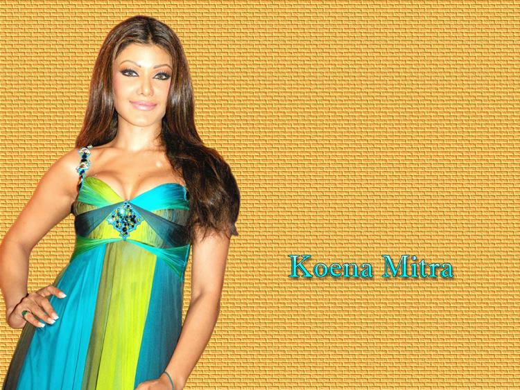 Koena Mitra Gorgeous Face Wallpaper