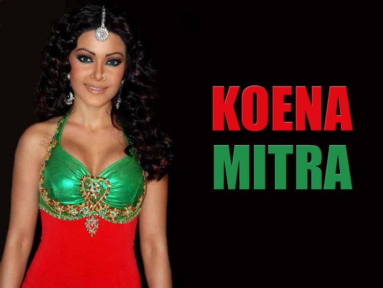 Glam Girl Koena Mitra Wallpaper