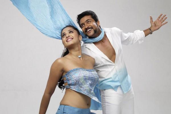 Surya and Anushka Yamudu Movie Dance Still