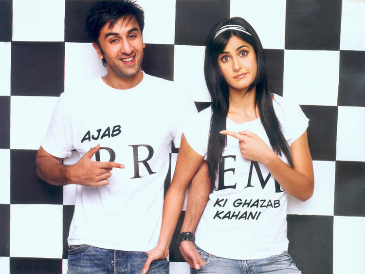 Katrina Kaif and Ranbir Kapoor Cute Still