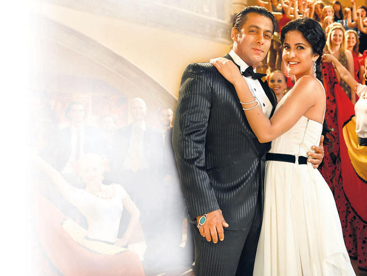 Katrina Kaif with Salman Khan Latest Pic