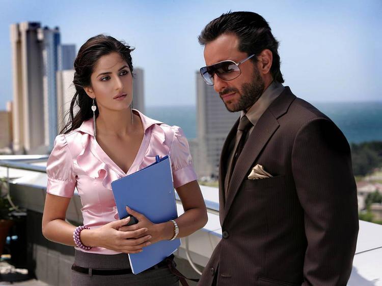 Katrina Kaif with Saif Ali Khan Images