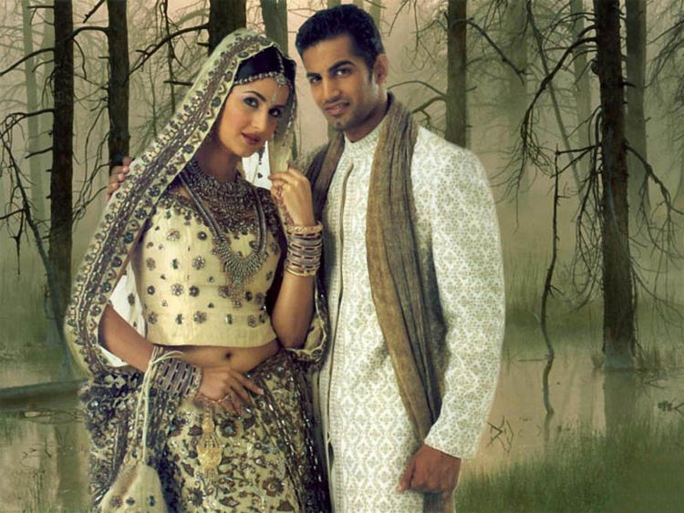Katrina Kaif with Upen Patel Latest Still
