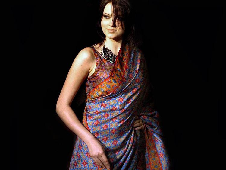 Hot Babe Yana Gupta In Saree
