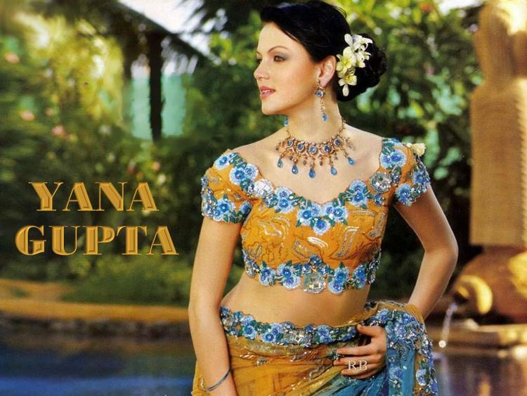 Yana Gupta Hot Beauty Look Wallpaper