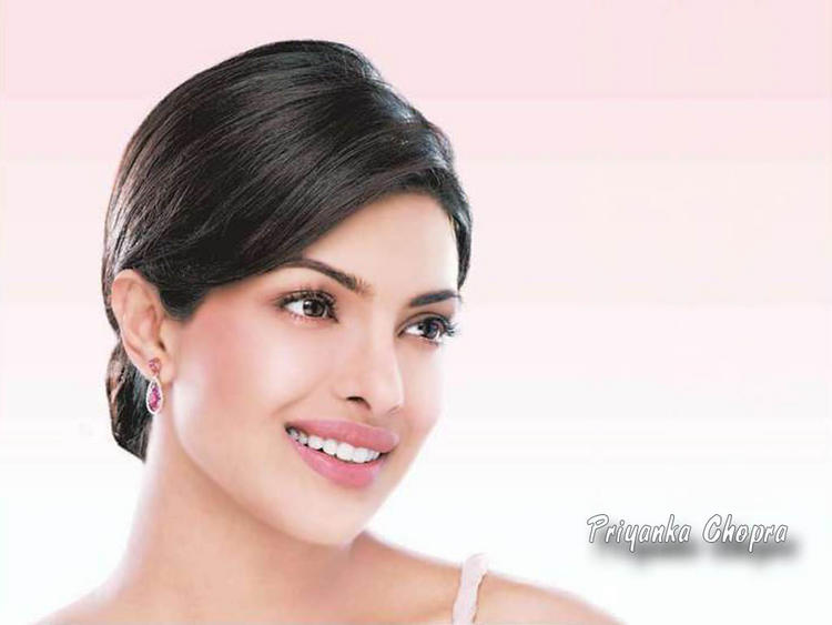 Priyanka Chopra Formal Hair Wallpaper