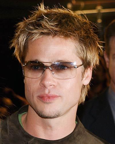Brad Pitt Hair Style Latest Pic