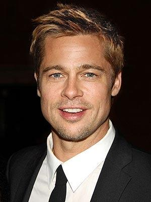 Sexiest Hero Brad Pitt Cute Smile Face Look