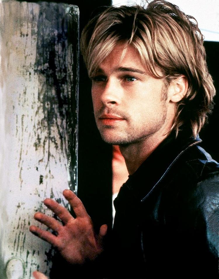 Brad Pitt Long Hair Style Pic