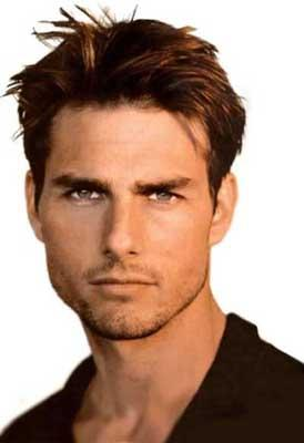 Tom Cruise Sexiest Face Look