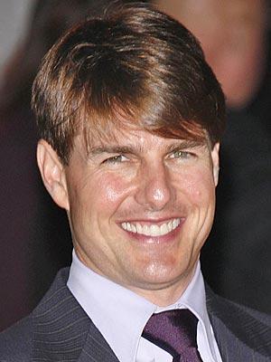 Tom Cruise Open Smile Gorgeous Photo