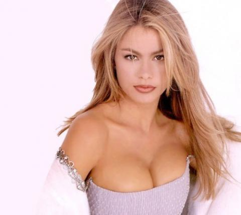 Sofia Vergara Open Boob Beauty Awesome Face Look