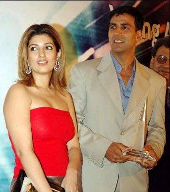 Best Couple Akshay Kumar and Twinkle Khanna Still