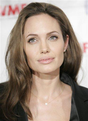 Angelina Jolie Sweet Hot Face Look