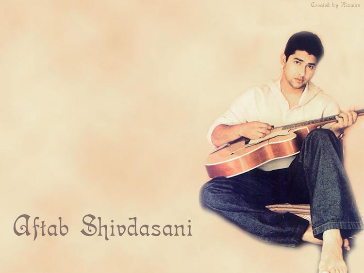 Aftab Shivdasani With Guitar Wallpaper