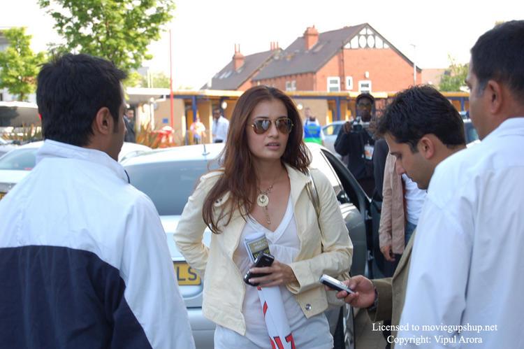 Beautiful Diya Mirza Snapped At IIFA
