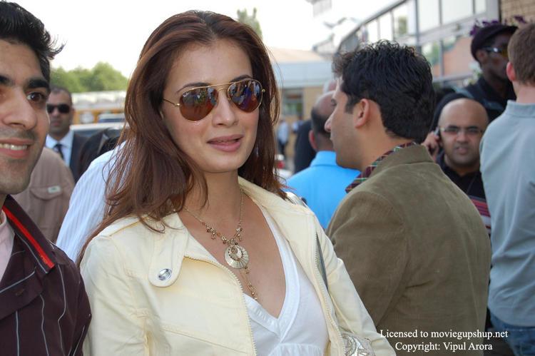 Diya Mirza at IIFA Cricket Match