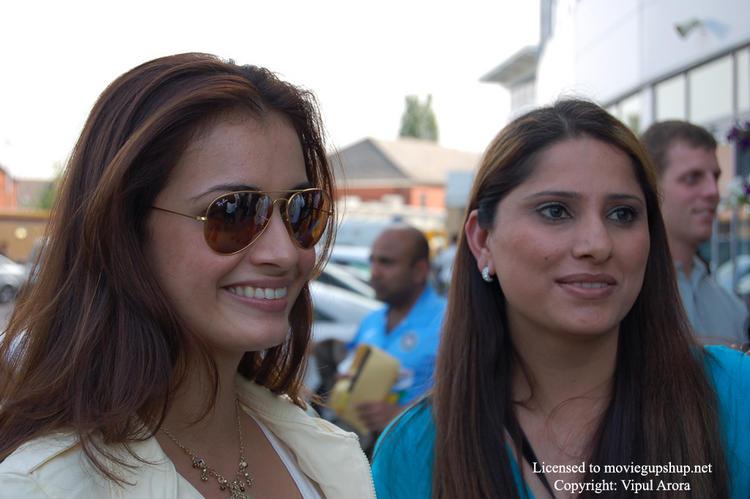 Diya Mirza With Beautiful Smile