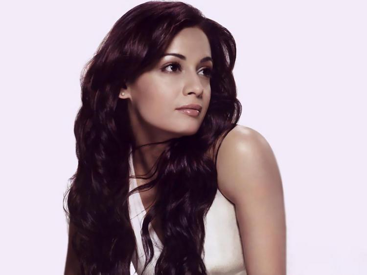 Diya Mirza Glamour Face Look Wallpaper