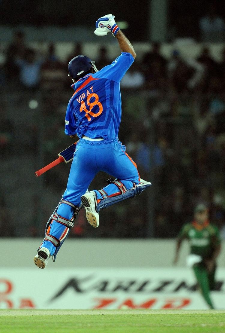 India VS Bangladesh Virat Kohli Century World Cup