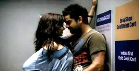 Genelia and Virat Kohli Photoshoot For an Ad
