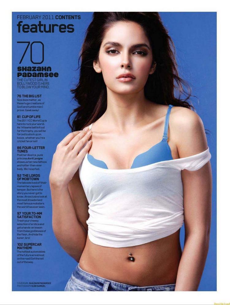 Shazahn Padamsee Hot Sexy Photoshoot