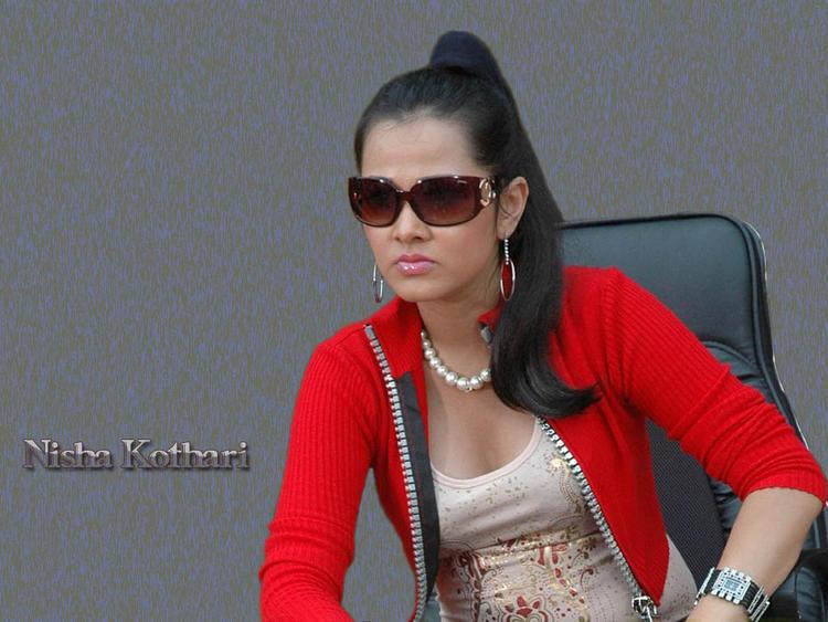 Nisha Kothari Stylist Pose Wearing Goggles