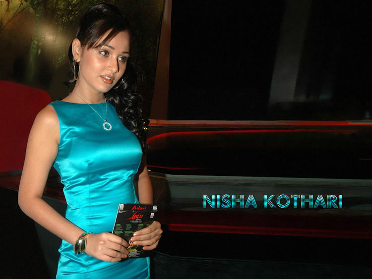 Nisha Kothari Cute Pose Wallpaper