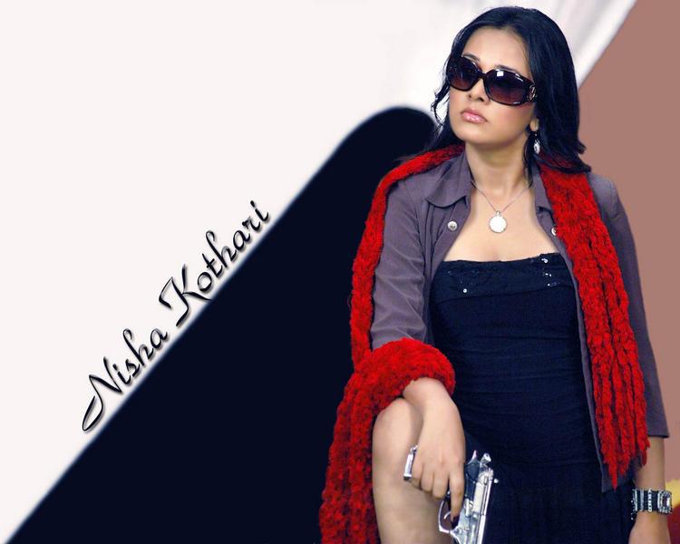 Nisha Kothari Stylist Look Wallpaper