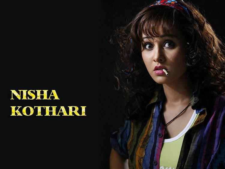 Nisha Kothari Latest Cute Look Wallpaper