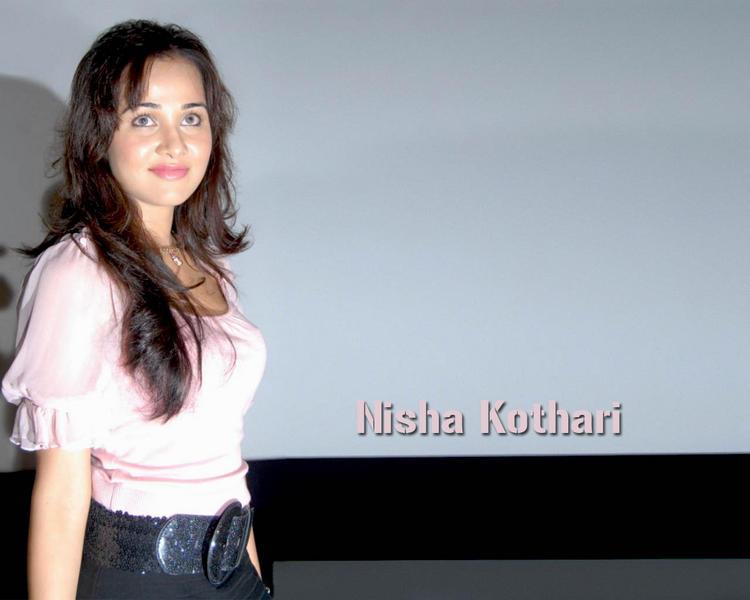 Nisha Kothari Cute Smile Glorious Wallpaper