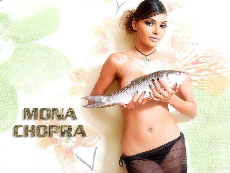 Glamour Mona Chopra Wallpaper