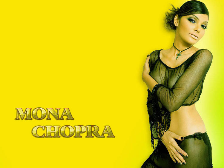 Mona Chopra Spicy Look Wallpaper