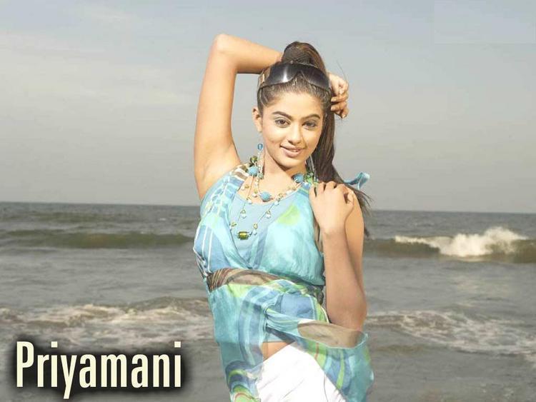 Priyamani Cute Hot Wallpaper