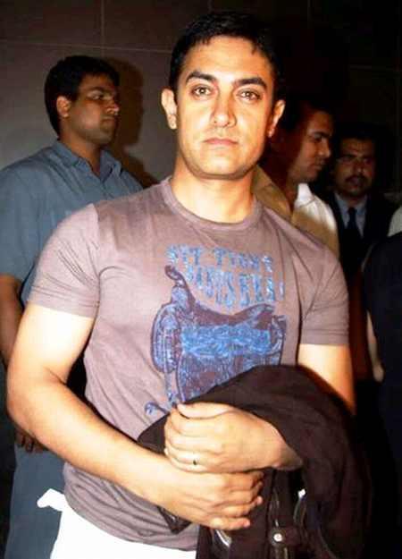 Aamir Khan Glamour Public Photo