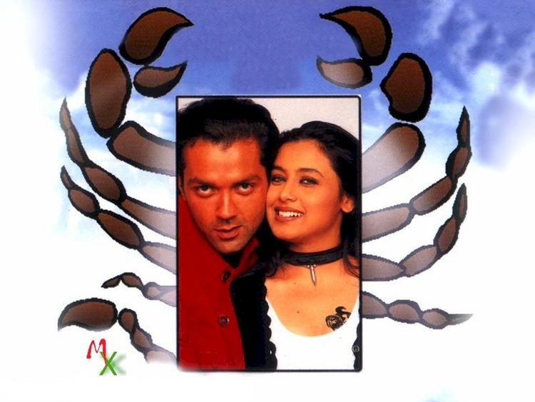 Rani and Bobby Deol in Bichchoo