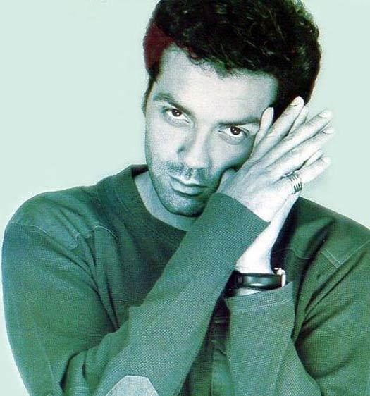 Bobby Deol Cute Sexy Pose Wallpaper