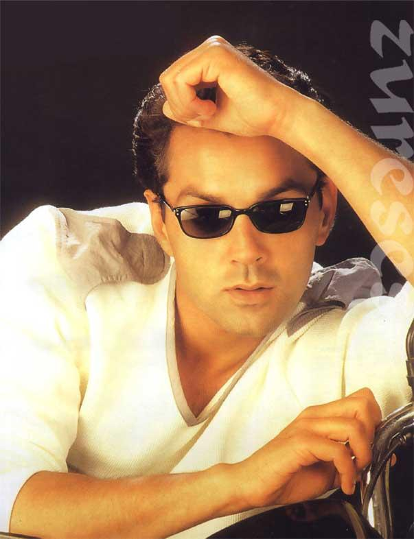 Bobby Deol Sexy Look Wearing Goggles