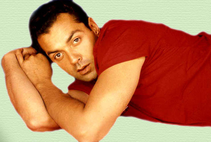 Bobby Deol Red T Shirt Wallpaper
