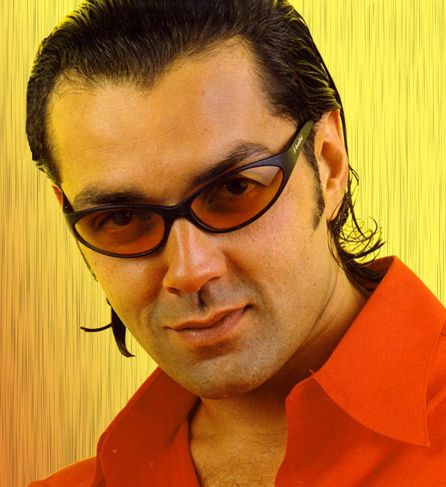 Bobby Deol Red Shirt Wallpaper
