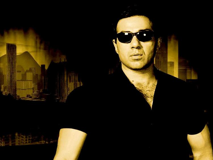 Sunny Deol Hot Look Wearing Goggles