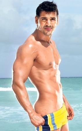 John Abraham Strong Arm and Sexy Figure Still