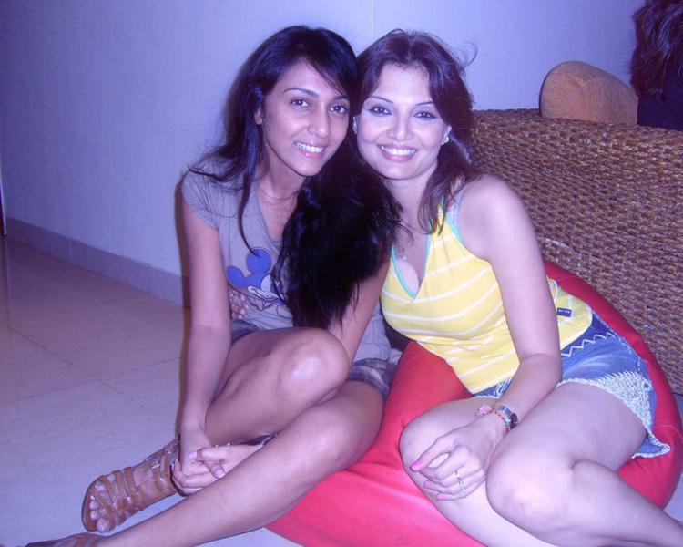 Shweta Salve with Deepshikha