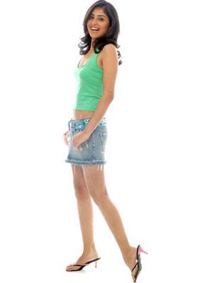 Bhanu Mehra Mini Dress Cute Photo Shoot