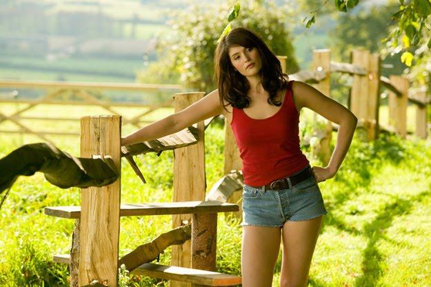 Gemma Arterton Mini Dress Still