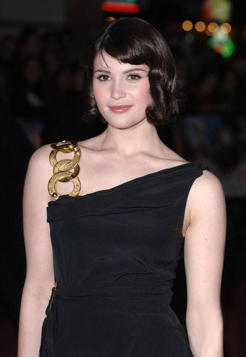Gemma Arterton Black Color Dress Photo